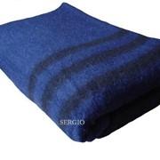 Одеяло солдатское полушерстяное фото