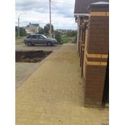 Тротуарная плитка желтого цвета