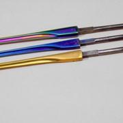 Производство цветных клинков шпаги, рапиры, сабля дляфехтования. фото