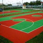 Обслуживание спортивных покрытий в Казахстане фото