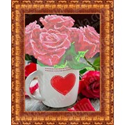 Набор для вышивки Розы для любимой КБЦ - 4017 фото