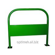 Велопарковка ВР 02а зеленая фото