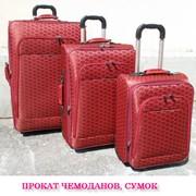 Прокат дорожних чемоданов. Киев. Ремонт сумок на колесах. фото