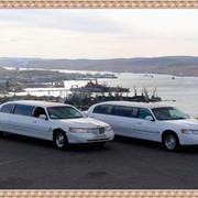 Заказ лимузина и белого кортежа фото