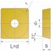 Сменные пластины для фрезерного инструмента SPGA фото