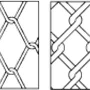 Сетки стальные плетеные одинарные - ГОСТ 5336-80 фото