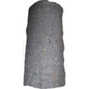 Нетканое полотно ЧХБК серое 1,6м/30 пог.м. фото
