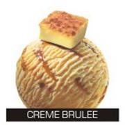 Традиционный вкус крем-брюле с карамельным соусом фото