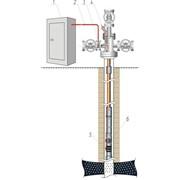 Подача химического реагента на прием глубинного электроцентробежного насоса фото