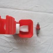 Микрочашечная поилка с ниппелем для утят, гусят 813 фото