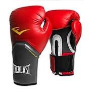 Перчатки боксерские Everlast Pro Style Elite 2114E 14 унций красные фото