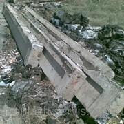 Балка железобетонная фундаментная 6м. фото