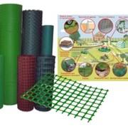 Сетка пластиковая 18х18 1*20 ярко-зеленый 00116 фото