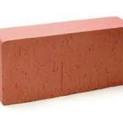 Изготовление кирпича:Кирпич керамический рядовой,полнотелый,красный М100. фото