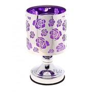 Аромалампа Цветущие бутоны фиолетовая фото