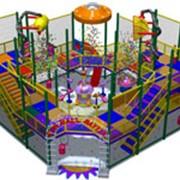 Детские аттракционы, игровые лабиринты, павильоны с воздушными пушками фото