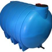 Горизонтальная емкость на 5000 литров. Емкость для транспортировки. Агроемкость на 5000 литров. фото