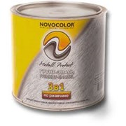 Грунт-эмаль 3в1 глянц Новоколор 15кг разл. цвета фото