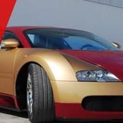 Publicitate pe automobile ,pelicula speciala pe automobilul DVS фото