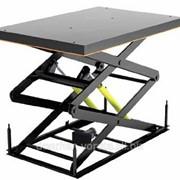Подъемный стол с двумя парами ножниц фото