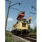Оборудование контактных линий железной дороги
