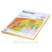 Бумага Maestro color А4, 80 г/м2, 200 л. (4 цв.x 50 л.), цветная неоновая RB04