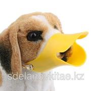 Пластиковый намордник для собак анти-лай- регулируемый размер, 3 цвета фото