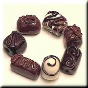 Мармелад с суфле в шоколаде фото