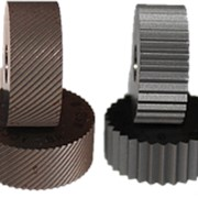 Ролик для накатки сетчатых рифлений 1,0 мм к-т из 2 шт (20*8*6мм) фото
