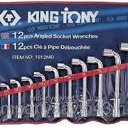 Набор торцевых L-образных ключей, 8-24 мм, 12 предметов KING TONY 1812MR фото