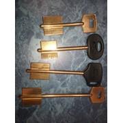 Изготовления ключа флянец латунный фото