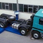 Мобильный роликовый тормозной стенд для грузовых автомобилей фото