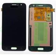 Дисплей для Samsung J120F (J1 2016) в сборе с тачскрином черный - AAA (TFT) с регулируемой подсветкой фото