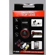 Набор объективов для телефона Clip Lens фото