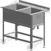 Стол-мойка СМ-2-0,4-0,53/1,01 (AISI 430) фото