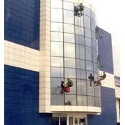 Мойка окон и фасадов зданий