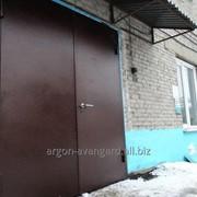 Двери входные, металлические. Нестандарт фото