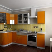 Гарнитур кухонный Техно фото
