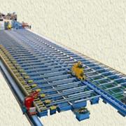 Линия транспортировки и обработки аллюминиевого профиля фото
