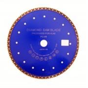 Алмазный диск тип ТУРБО серия PC RBC для сухой резки - качество ПРЕМИУМ фото