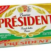 Масло Президент солёное 250г фото