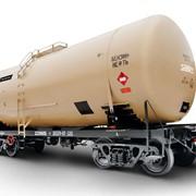 Ремонт вагонов специального назначения: четырёхосные цистерны для перевозки бензина и светлых нефтепродуктов фото