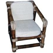 Кресло бамбуковое фото