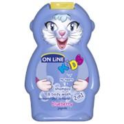 On Line kids шампунь + пена для ванн черника, 250 мл фото