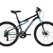 "Велосипед Stinger 26"" Discovery; 18""; черный; TY30/MICROSHIFT/EF41 125636 фото"