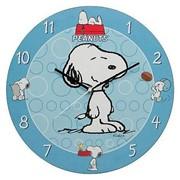 Настенные часы Снупи Peanuts Snoopy Wall Clock фото