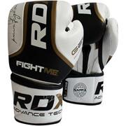 Боксерские перчатки RDX Elite Gold фото