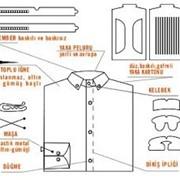 Полный комплект для упаковки рубашек фото