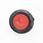 Кнопка короткая DS511 круглая OFF-(ON), 2pin, красная фото