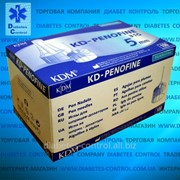 Иглы 5 мм для шприц-ручек универсальные KD-Penofine / КД-Пенофайн фото
